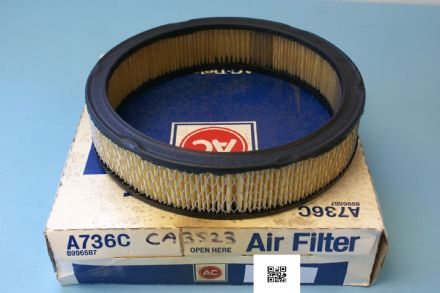 1985-1987 Camaro, Firebird, GMC Air Filter, New In Box